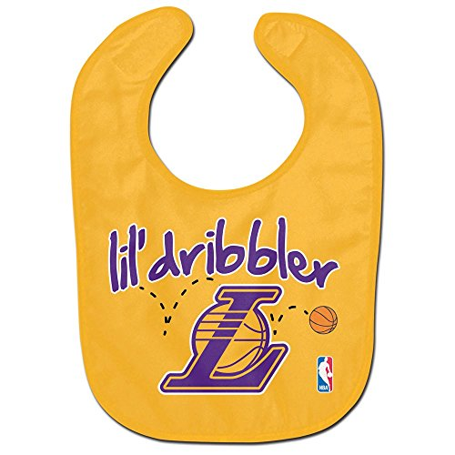 WinCraft NBA Los Angeles Lakers WCRA2001414 All Pro Baby Bib by WinCraft