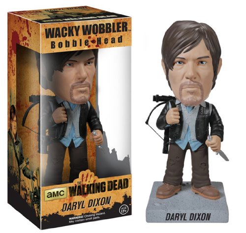 Funko Walking Dead: Biker Daryl Wacky Wobbler, used for sale  Delivered anywhere in USA
