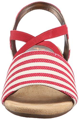 A2 Av Aerosoler Kvinners Boyzenberry Kile Sandal Rød Stripe