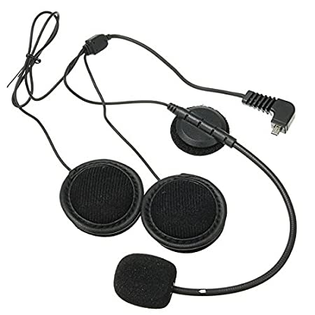 Generic Intercom Headset with Microphone For BT-S2 BT-S1 Motorcycle Helmet Intercom Interphone