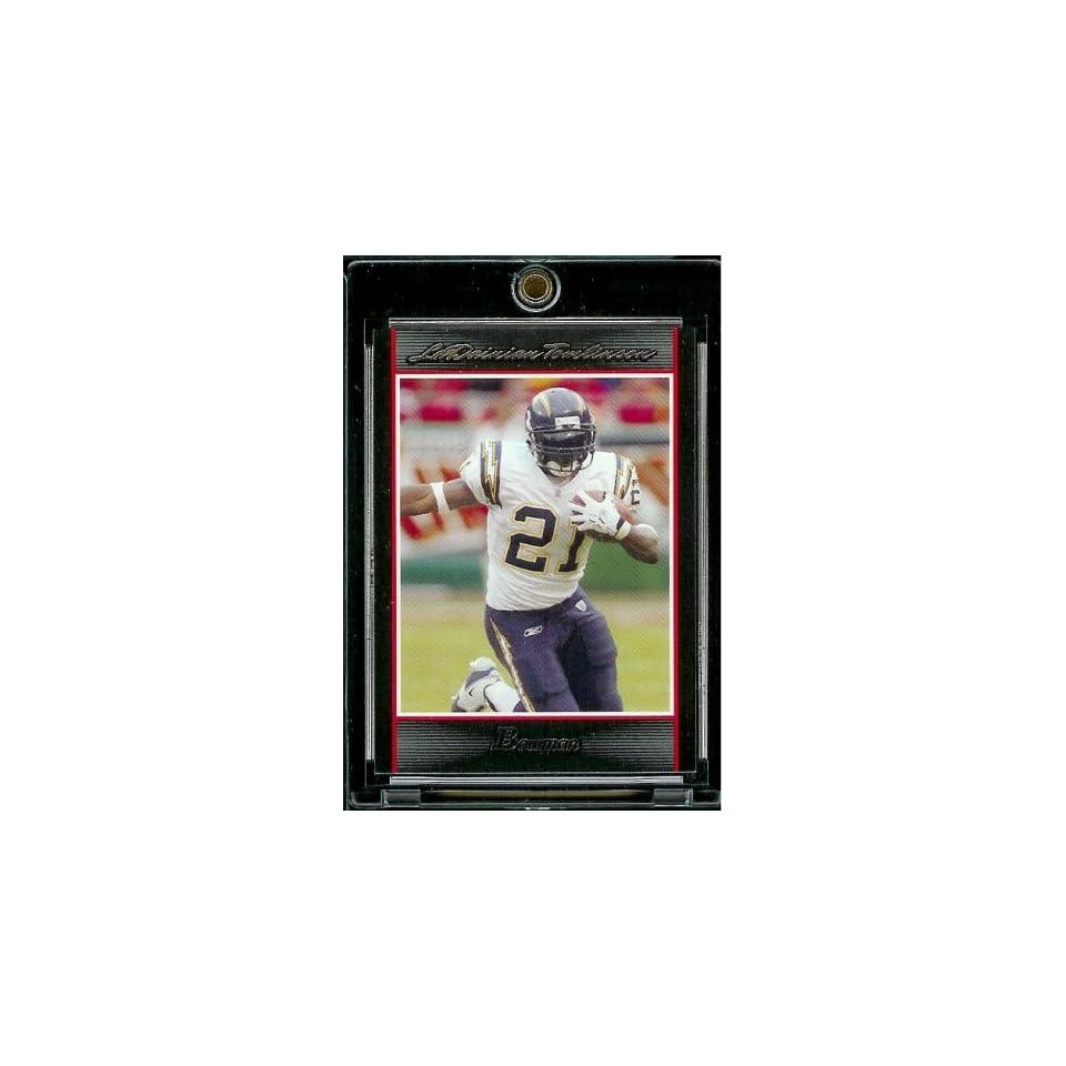 2007 Bowman # 48 Ladainian Tomlinson   San Diego Chargers   NFL