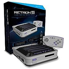 Hyperkin RetroN 5 Retro Video Gaming System - Gray