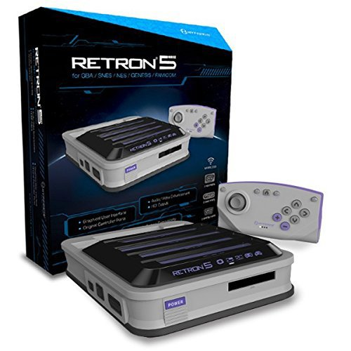Hyperkin RetroN 5 Gaming Console Gray