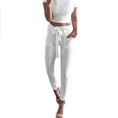 b61a54d784ef65 Image Unavailable. Image not available for. Color: Women Chiffon High Waist  Harem Pants ...