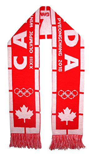 CANADA 2018 Olympic Winter Games Fans (Team Canada Jersey)