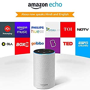 Amazon Echo (2nd Gen) - Powered by Dolby - White