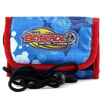 894446305219 Beyblade Porte Monnaie Multicolore (Bleu Rouge)  Amazon.fr  Bagages