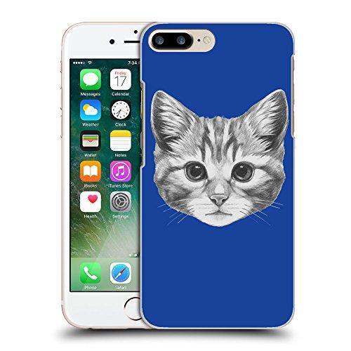 GoGoMobile Coque de Protection TPU Silicone Case pour // Q05140613 Dessin chaton Bleu // Apple iPhone 7 PLUS