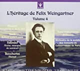 L'Heritage de Felix Weingartner Volume 4 - Mozart: Symphony No. 39, K 543 (recorded April 1928) / Bach: Suite No. 3, BWV 1068 (recorded May 1939) / Handel: Alcina, musique de sommeil / Boccherini: Minuet