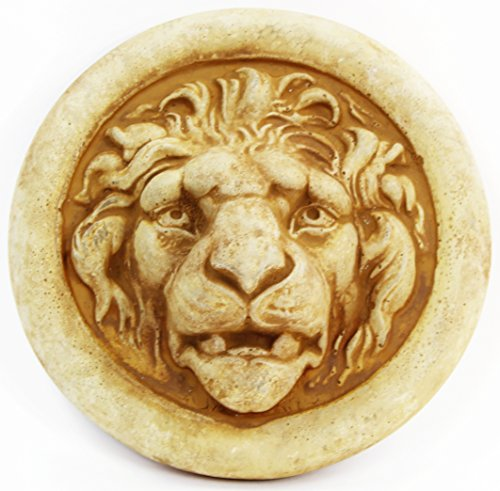 Lion Medallion Home and Garden Wall Plaques
