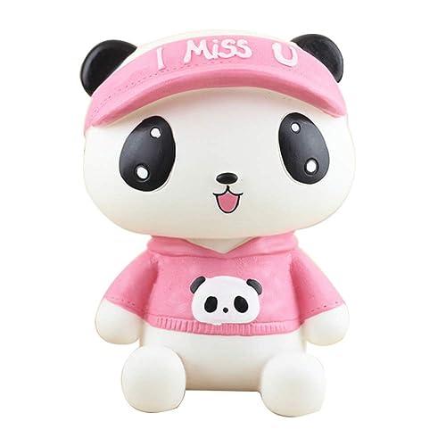 YIY - Hucha con diseño de Cerdito de Panda para niños ...