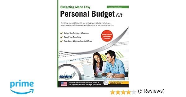 Personal Budget Kit: Enodare: 9781906144494: Amazon.com: Books