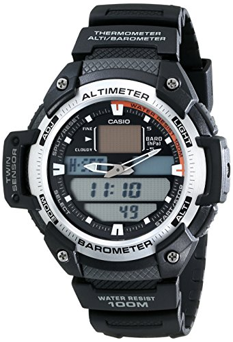 Casio SGW400H 1B Sport Multi Function Grey Dial