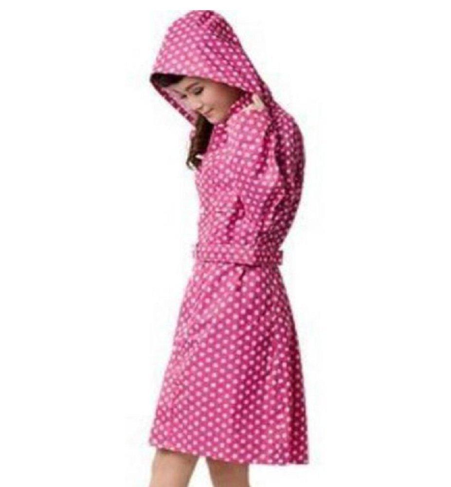 Flyshine Lightweight Girls Waterproof Outdoor Rain Jacket Raincoat
