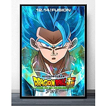 "Goku Dragon Ball Brolly 36/"" x 24/"" Large Wall Poster Print Anime Decor"