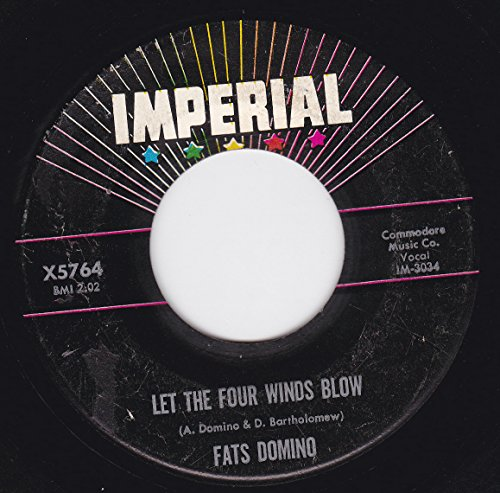 45vinylrecord Let The Four Winds Blow/Good Hearted Man (7