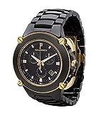 CALABRIA - Sottomarino Collection - CORRENTE- Hi-Tech Ceramic & Gold Chronograph Men's Watch