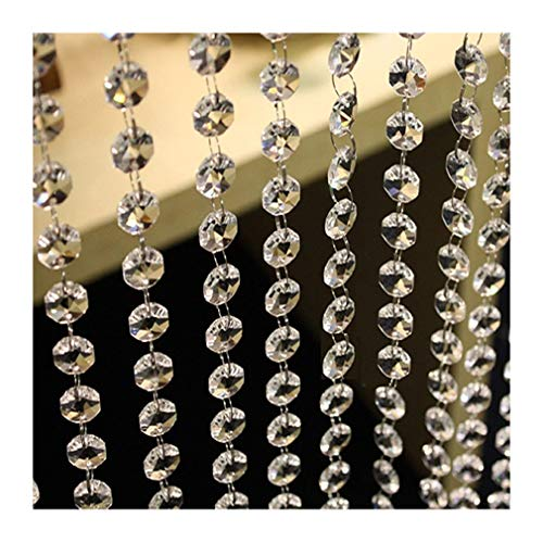 - Colorsheng 33 ft Acrylic Crystal Garland Hanging Diamond Wedding Party Table Decoration