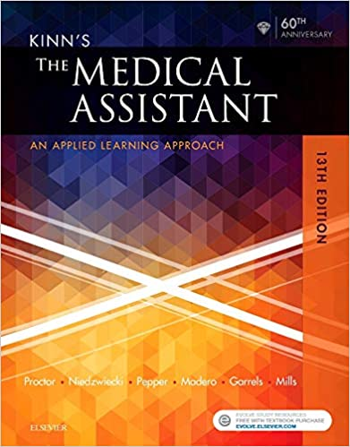 Kinn S The Medical Assistant An Applied Learning Approach