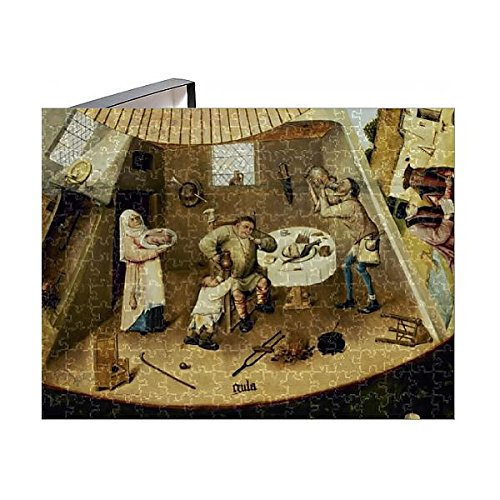 252 Piece Puzzle of Table of the Seven Deadly Sins by Hieronymus Bosch (14406372) ()
