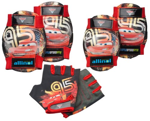 Pacific Cycle Cars Bike Pad Set (Red)