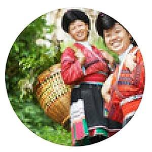 alfombrilla de ratón sonriente mujer minoritario chino Yao - ronda - 20cm