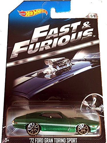 Hot Wheels Fast & Furious Limited Edition - '72 Ford Gran Torino Sport 1972 Grand [5/8]