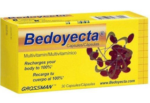 Bedoyecta Multivitaminico Multivitamins 30 Capsules (2Pack)(Total:60Caps) For Sale