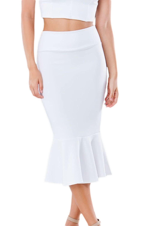 Women's Elegant High Waist Bodycon Party Mermaid Skirt