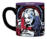 DC Comics SQ0132 Silver Buffalo Suicide Squad Movie Harley Quinn 'Daddy's Lil Monster' Ceramic Mug, 14 oz, Multicolored