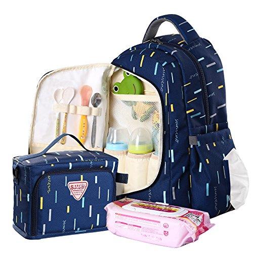 SUNVENO Multi-function Large Capacity Backpack Baby Diaper N