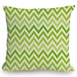 roho cushion toilet seat Throw Pillow Cushion Cover,Lime Green,Chevron Traditional Zig Zag Pattern with Symmetric Lines Tribal Modern Pattern Decorative,Pale Green,Decorative Square Accent Pillow Case