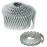 Hitachi 12345 2-Inch x .083 Ring Electro Galvanized Coil Nail