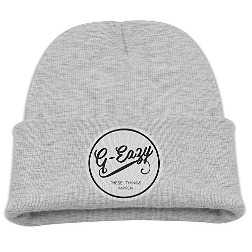 Price comparison product image AsenraChild's Cuff Cap G-eazy These Things Happen Knit Beanie Ash