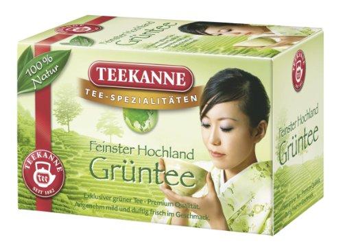 Teekanne Hochland Grüntee 20 Beutel, 5er Pack (5 x 34 g)