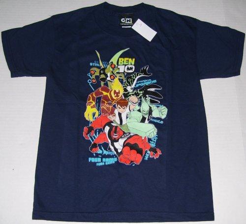 Ben 10 Ten Alien Force Tennyson T-Shirt Youth L 9-10