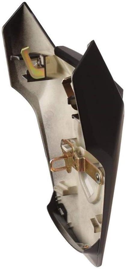 Apricot blossom Motorrad-Zubeh/ör R/ücksitzabdeckung mit Gummiauflage gepasst for Honda CBR650R CB650R 2019-2020 hintere Endst/ück-Abdeckung Verkleidungs Cowl Color : Light Black