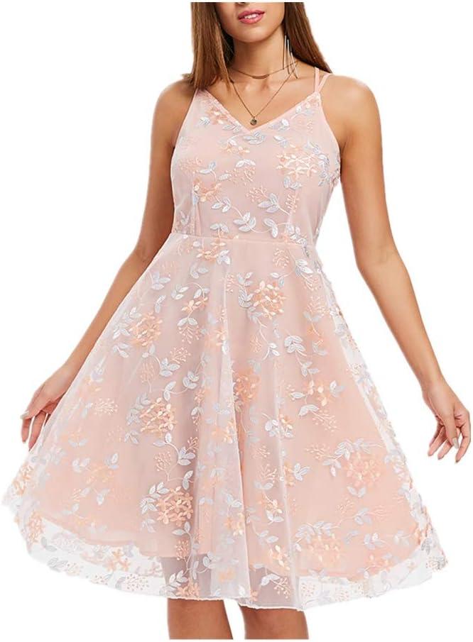 ZSRHH-Falda Vestido de Mujer Fashian Ladies Lindo Vestido con ...