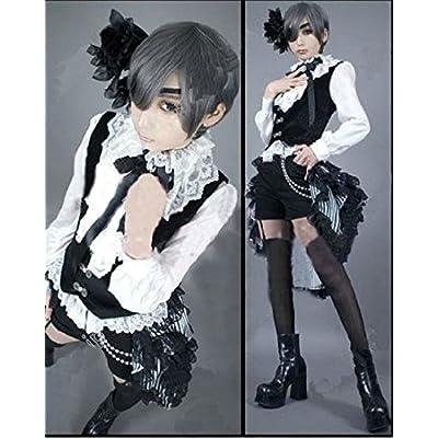 Mister Bear Black Butler Ciel Phantomhive Cosplay Costume: Clothing