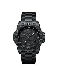 Luminox Men's SEA 3152.BO Black Stainless-Steel Swiss Quartz Watch