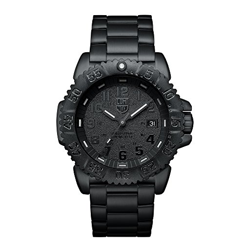 Luminox Sea Navy Seal Steel Colormark 3150 Men's Black PVD Watch A.3152.BO (Luminox Pvd)