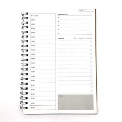 YPGFL Cuaderno Agenda Cuaderno Semanal Cuaderno Agenda ...