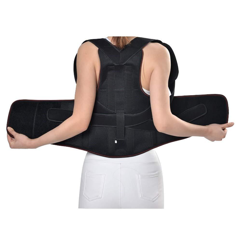 BOSS LV Shoulder Back Posture Corrector,Therapy Posture Shoulder Supports Back Brace,Shoulder Spinal Support Improve Posture,Unisex Back Correction m