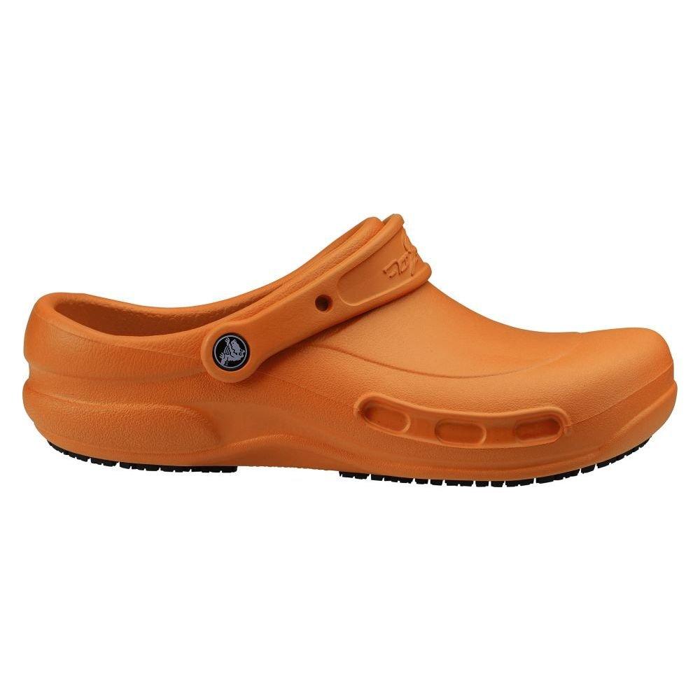 822667367 Amazon.com  Crocs SureGrip Unisex - Adult Mario Batali Bistro Orange Slip  Resistant Work Clogs 7M  Shoes
