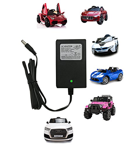 12V Kids Powered Wheel Charger, 12 Volt Battery Charger for Children's Electric Ride On Car Competiable with Audi BWM Mecerdes-Benz Battery Power ()