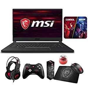 MSI GS65 Stealth-483 (i7-9750H, 16GB RAM, 2X 512GB NVMe SSD, RTX 2060 6GB, 15.6″ Full HD 240Hz 8ms, Windows 10 Pro) VR Ready Gaming Notebook