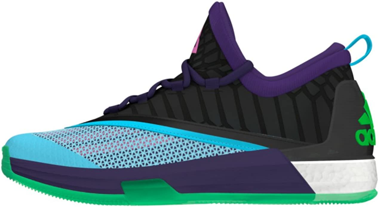 Amazon.com | Adidas Crazylight Boost 2.5 Low Mens Basketball Shoe ...