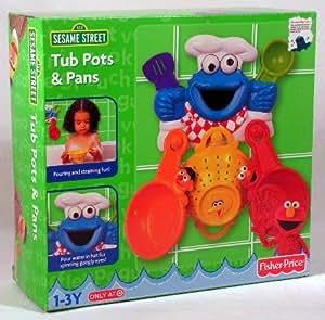 Sesame Street Tub Pots & Pans