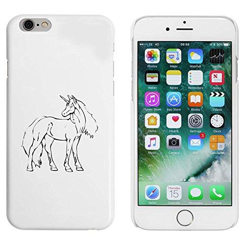 Weiß 'Schönes Einhorn' Hülle für iPhone 6 u. 6s (MC00090433)