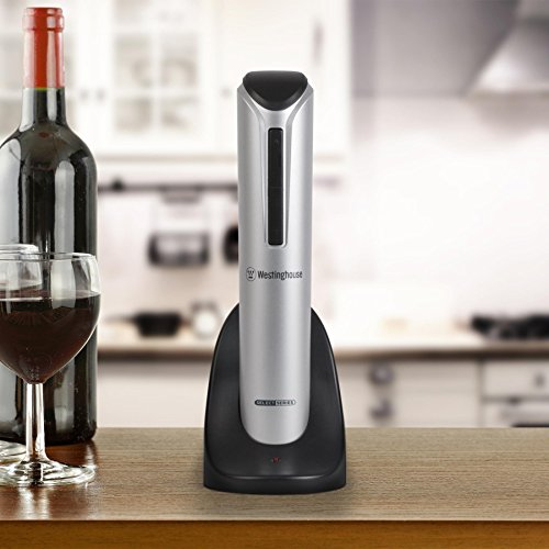 [Tuk789 VIP Electric Cordless Wine Bottle Opener with Foil Cutter] (Log Costume)